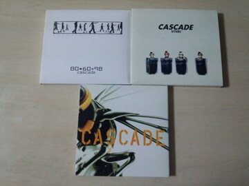 CASCADE CDアルバム3枚セット★