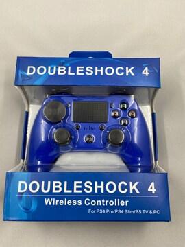 PS4 ワイヤレスコントローラー ブルー DOUBLESHOCK4