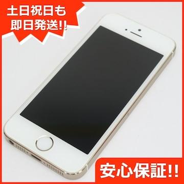 ●安心保証●判定○●美品●iPhone5s 32GB ゴールド●