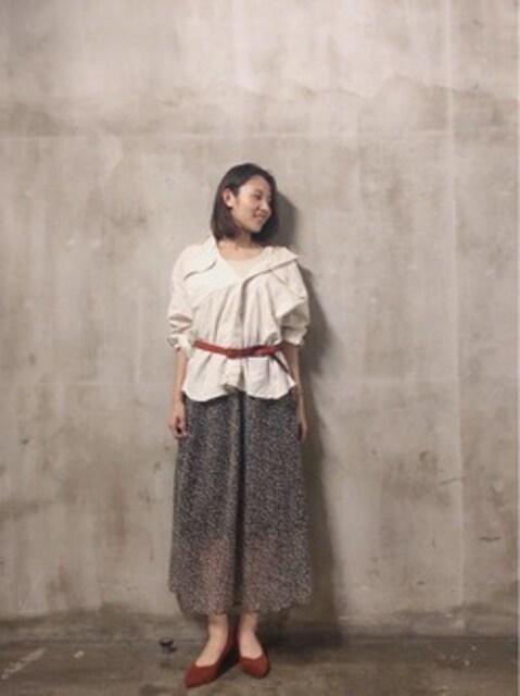niko and…☆タグ付き新品♪キレイドレープのギャザースカート