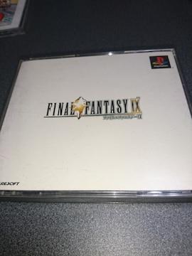 PS!箱説あり!ファイナルファンタジーlX!ソフト!