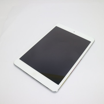 ●美品●au iPad mini Retina Cellular 16GB シルバー●