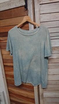 TOUJOURS トゥジュ— 染め加工 Tシャツ カットソー 半袖