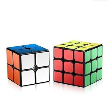 大人も子供も脳の活性化促進にルービックキューブ2個セット