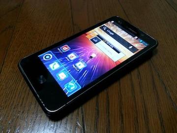 即落/即発!!中古品 L-01D Optimus LTE ブラック