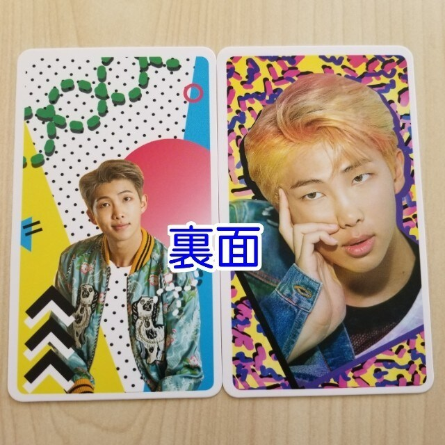 BTS dicon dispatch 特典トレカ ☆ RM < タレントグッズの