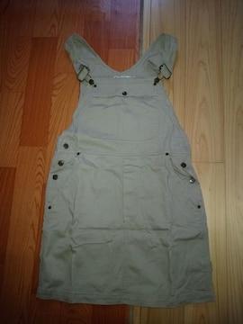 DKNY  JEANS☆ベージュ☆ジャンパースカート