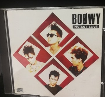 BOOWY 2ndアルバム『INSTANT LOVE』