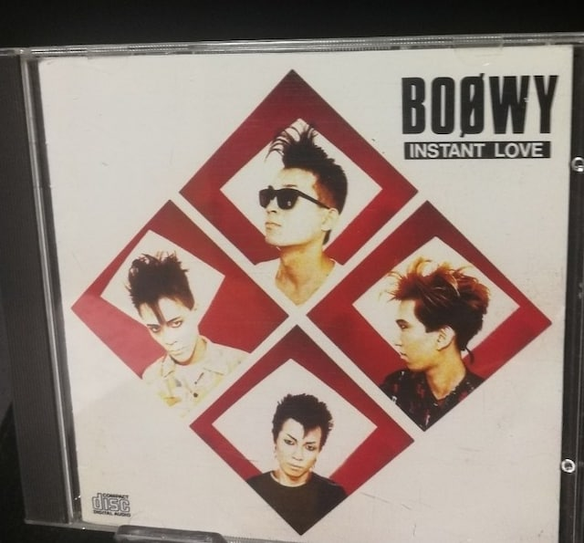 BOOWY 2ndアルバム『INSTANT LOVE』  < タレントグッズの