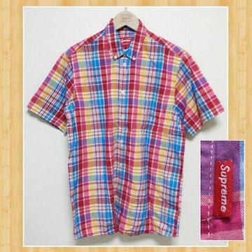 Supreme シュプリーム USA製 チェックシャツ M レア 超美品