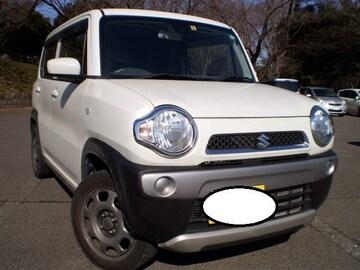 超大人気ハスラー人気のホワイト稀少4WD車検付き売切り