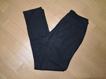新品シェラックSHELLACウールパンツ48黒毛定価35000円