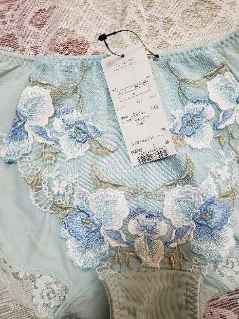 ★新品★L★ワコール★ラゼ★ショーツ★ソフトブルー★4320円★ < 女性ファッションの