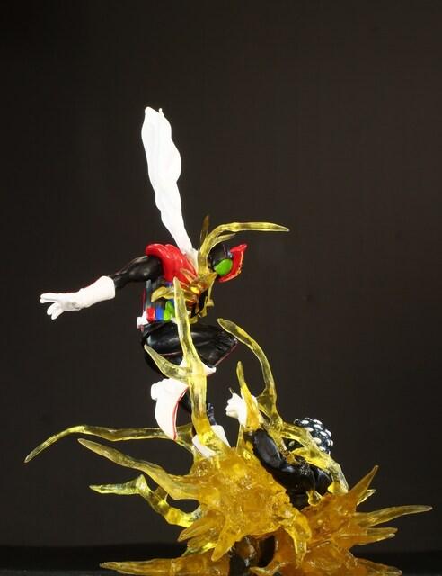加工品 ガシャ仮面ライダーイマジネーション2 電キック!! ストロンガーVS百目タイタン < ホビーの