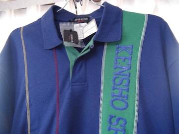 KENSHO ABEのポロシャツ(L) 新品タグ付き!。