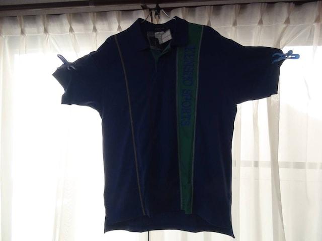 KENSHO ABEのポロシャツ(L) 新品タグ付き!。 < 男性ファッションの